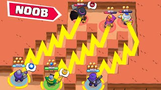 3 RICO IS BROKEN THIS MAP ! Top 50 Funniest Fails in Brawl Stars #55