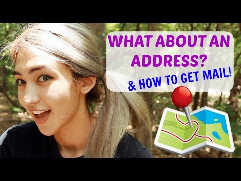 Living In A Car: 5 WAYS To Get An ADDRESS & MAIL