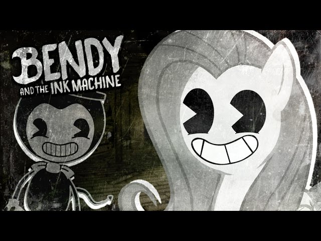 fluttershy-plays-bendy-and-the-ink-machine