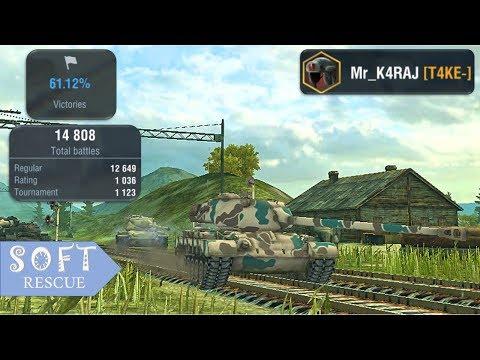 M46 Patton: 6000 Damage , 3 Frags - WOT BLITZ -