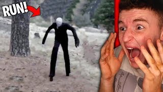SLENDERMAN Spotted In Real Life.. (HELP) DROP A LIKE for more Slend...