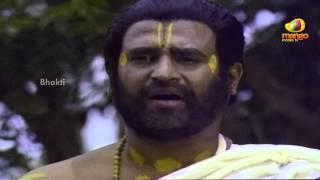 Sri Mantralaya Raghavendra Swamy Mahatyam Scenes - Goddess Saraswati appears before Rajnikanth