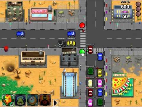 Урок-игра  на тему правил дорожного движения