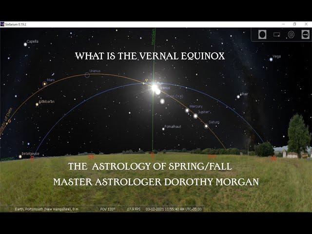The Vernal Equinox With Dorothy Morgan - Nancy Jean's Garden