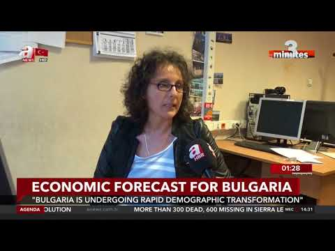 3 Minutes- Economic forecast for Bulgaria