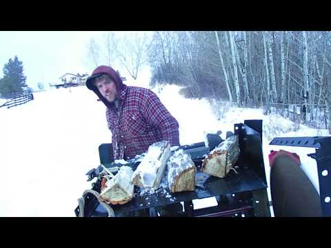 Re powering an electric wood splitter (part 2) gas engine conversion