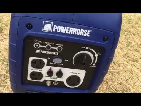 powerhorse 2000 generator review from northern tool