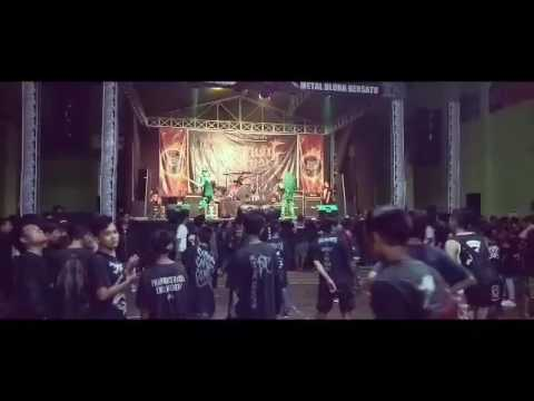 XTAB DEATH METAL live PENGHUNI KOTA MATI #6 METAL BLORA BERSATU