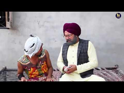 Raula Sarpanchi Da | Full HD Movie 2019 | Chacha Bishna | Full Comedy | Ek Records |