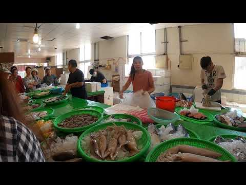 Taiwan YougAn Fish market-Fascinating seafood auction