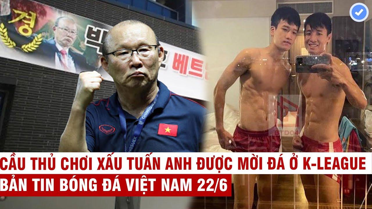 VN Sports 22/6 | Quê nhà HLV Park như hội mừng chiến thắng ĐTVN, dàn sao ĐTVN khoe 6 múi