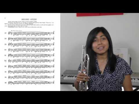 Finger Dexterity: Tips on how to play faster on the trumpet, by Estela Aragon (HD 1080p)