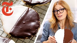 Making the Perfect Black & White Cookie Recipe | Melissa Clark | NYT Cooking