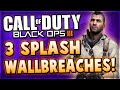 Black Ops 3 Multiplayer - 3 WALLBREACH Glitches On Splash! (COD BO3 Awakening DLC Glitch Spots)