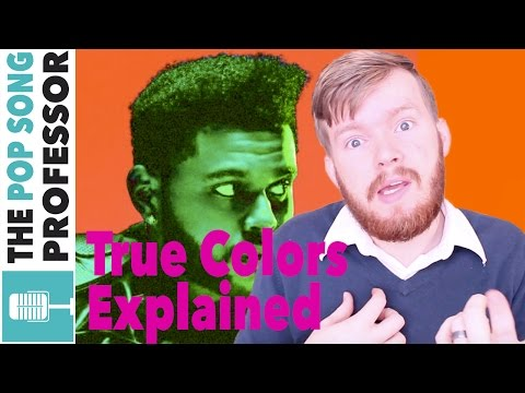 The Weeknd - True Colors   Song Lyrics Meaning Explanation Poster