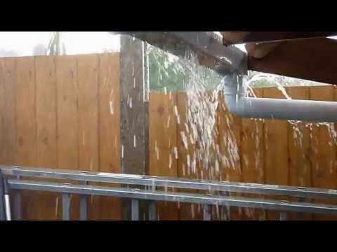 Rain In Spain. Majorca Rainwater Harvesting Collection Systems Provide Clean Potable Water
