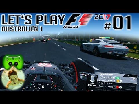 F1 2017 #01 | SAFETY CAR CHAOS | AUSTRALIEN 1 | Dner