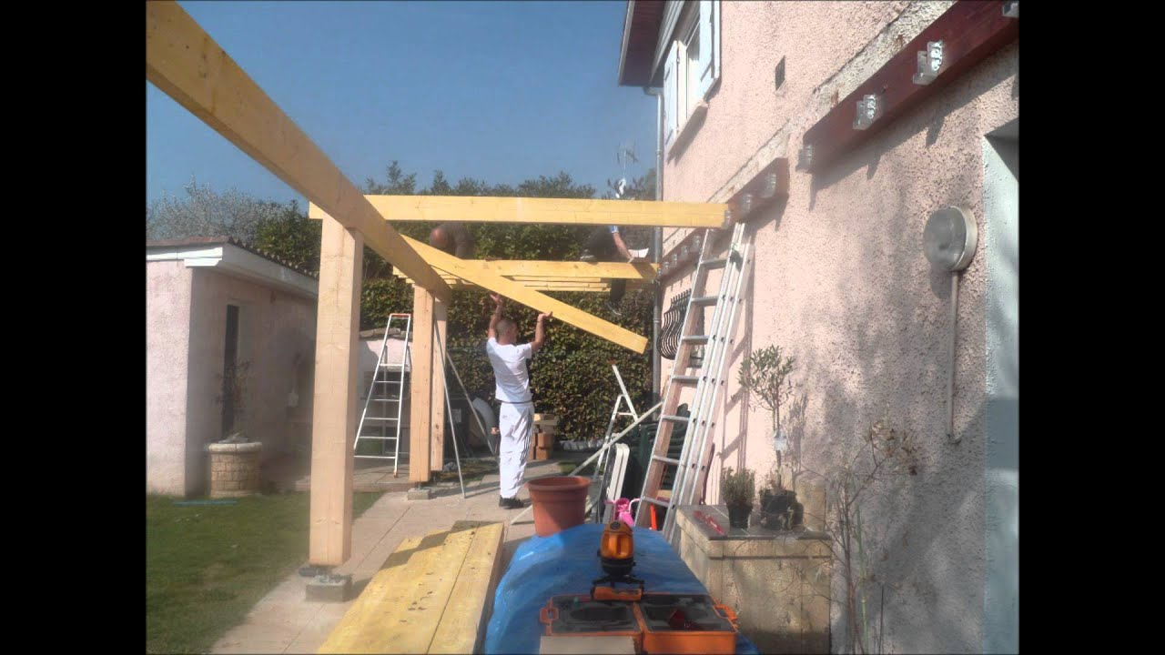 Construction pergola youtube Construire une pergola
