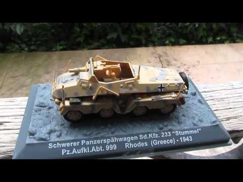 1/72 Schwerer Panzerspähwagen Sd.Kfz. 233 Stummel - Pz Aufkl. Abt. 999