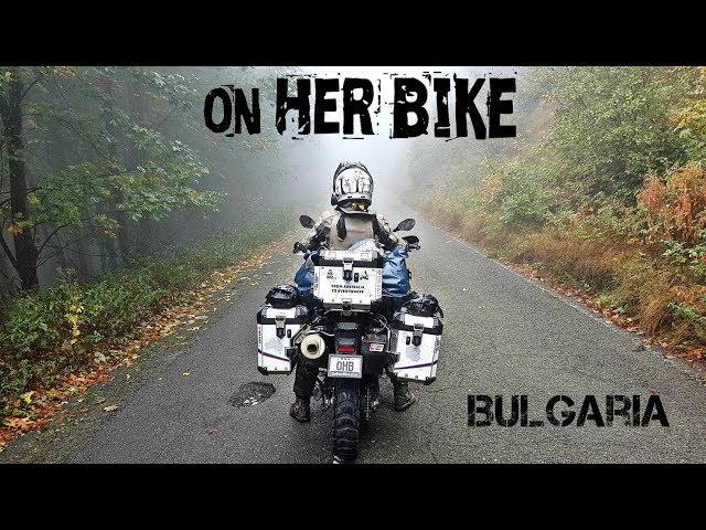 Bulgaria. On Her Bike Around the World. Episode 18