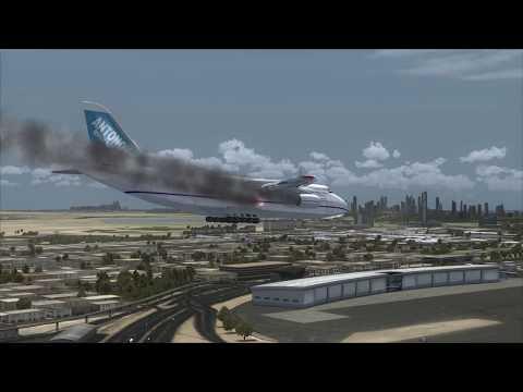 Antonov An-124 Cargo Crash at Dubai