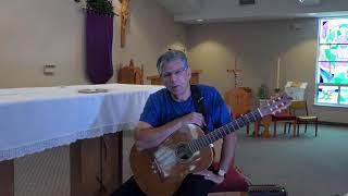 Matt Maher: Lamb of God:Mass of Communion Finger Style Guitar