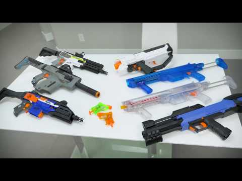 Shooting Stuff with Tacti-Cool Nerf Blasters 3
