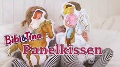 Bibi & Tina Panelkissen zum Selbernähen