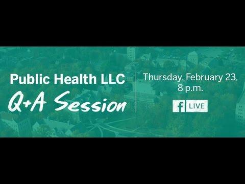 Facebook Live Q&A | Public Health LLC