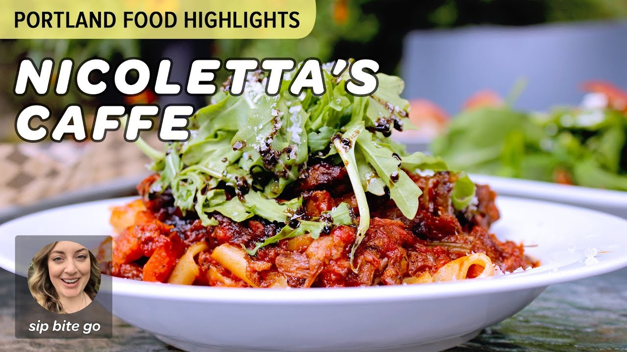 Discover Pdx Italian Food At Nicolettas Caffe In Portland At The