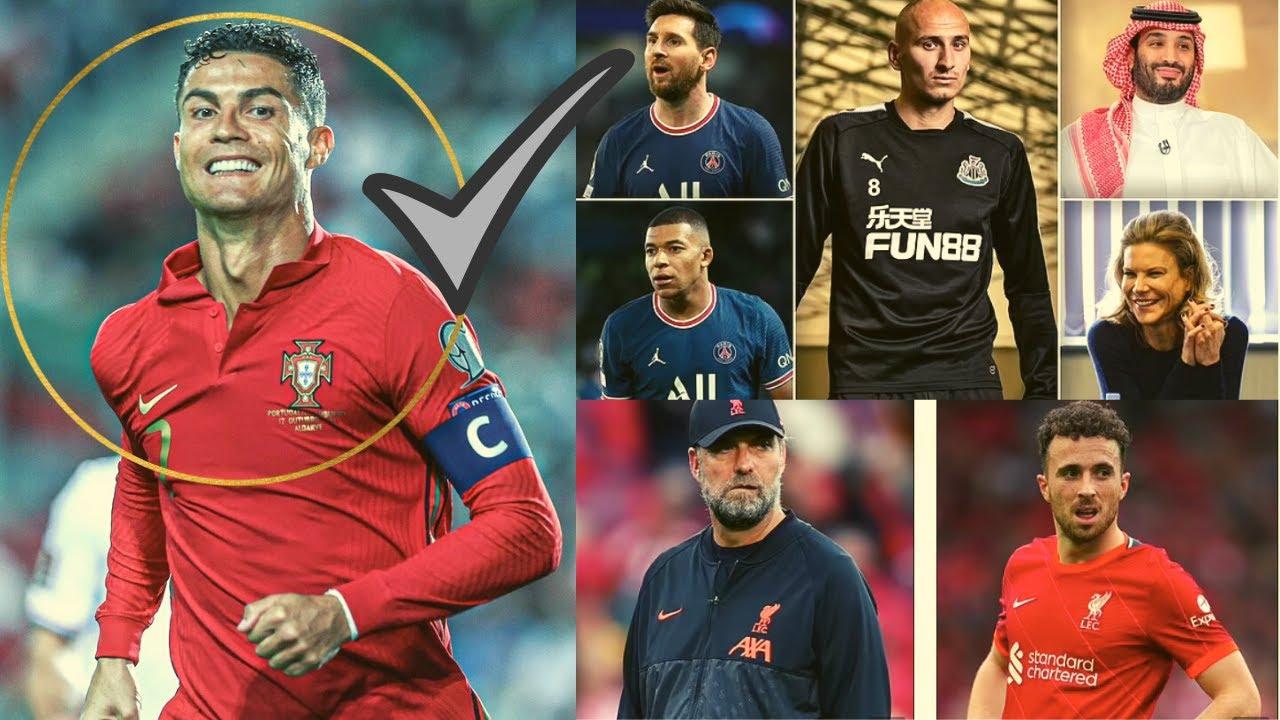 Download Xalayaa RONALDO Means GOAL ,Mane oo ku biiray mudaharaadka Mendy,Hindiyankii oo dhibaya Messi+SUUQA