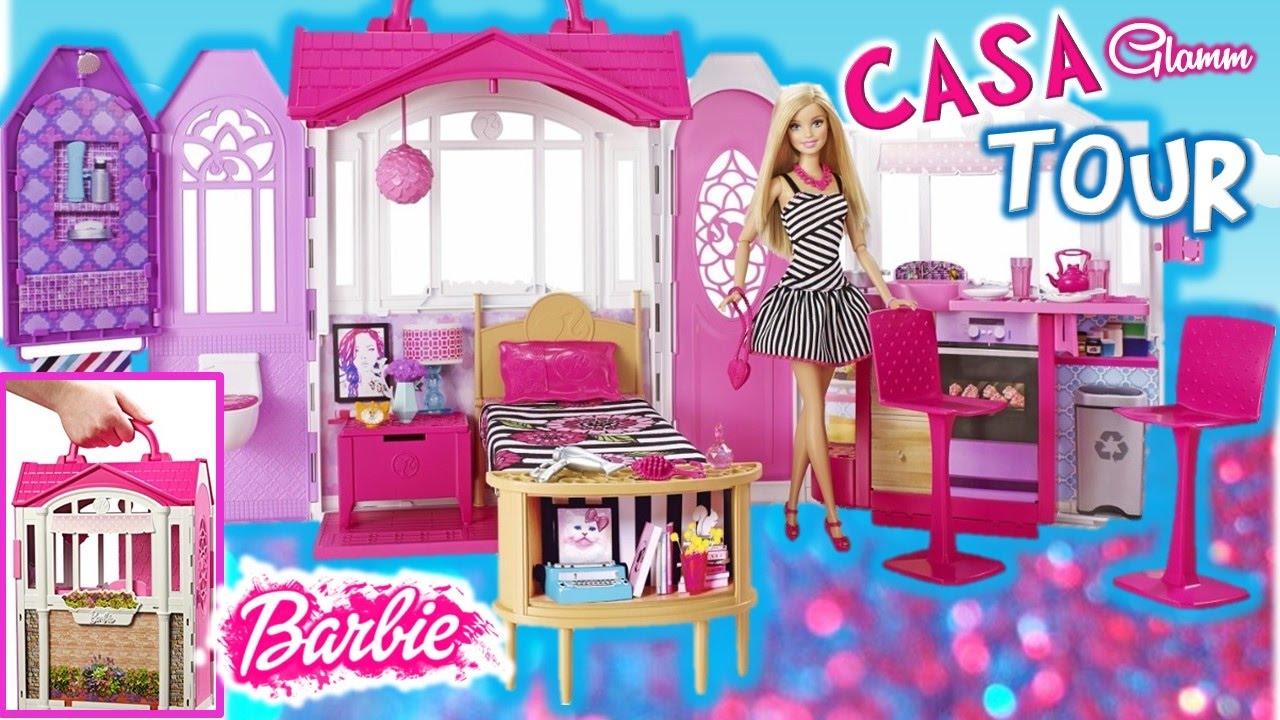Tour casa barbie casa de campo glam barbie y accesorios juguetes barbie en espa ol revision - La casa de barbie de juguete ...