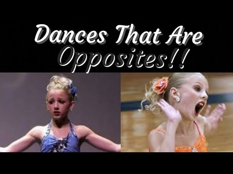 Dances With Opposite Themes! - YouTube