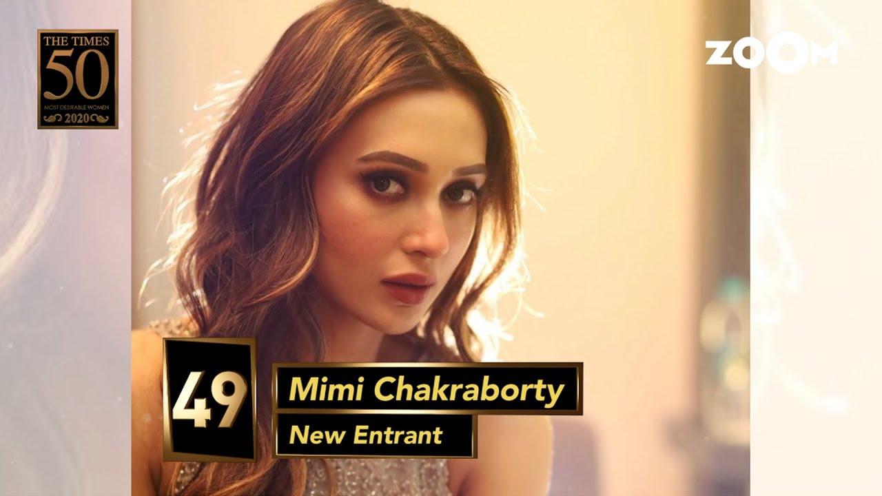 Mimi Chakraborty tops Calcutta Times Most Desirable Women 2020 list