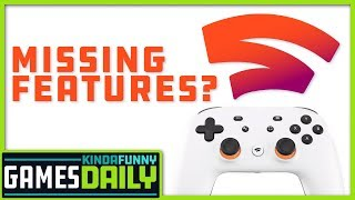 Google Stadia Controller To Launch Missing Features - Kinda Funny Games Daily 10.17.19