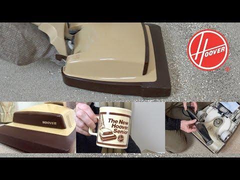 1980's Hoover Senior U4186 Upright Vacuum Cleaner Unboxing