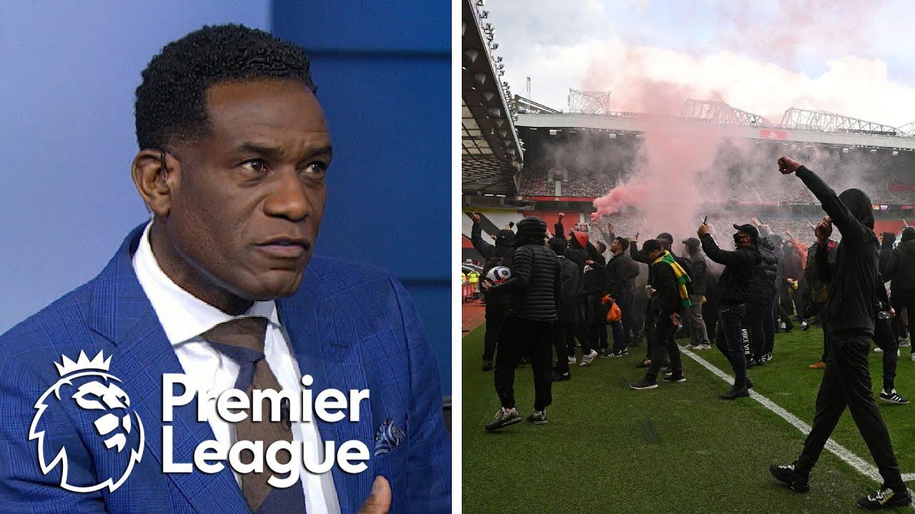 Manchester United-Liverpool postponed after fans invade Old ...