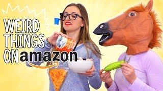 15 Unbelievably Weird Things You Can Find on Amazon | Brooklyn and Bailey thumbnail
