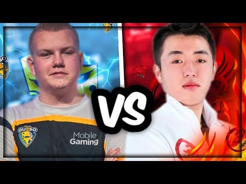 CHAMPION FACE OFF! TMD XIAKE VS SURGICAL GOBLIN BEST OF 5! - Clash Royale