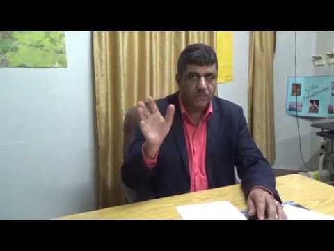 Speech of Ziad Medoukh from Gaza -  Ceremony  Jamnalal Foundation in India...28th October 2017