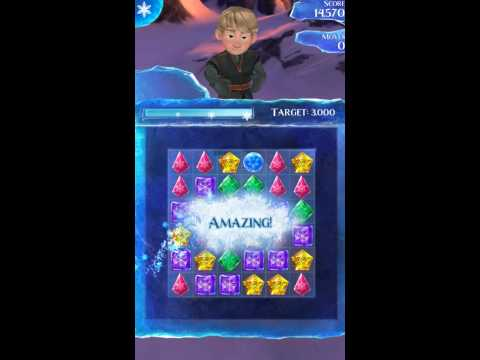 Frozen Free Fall Gameplay Walkthrough - Level 1 for Android/IOS