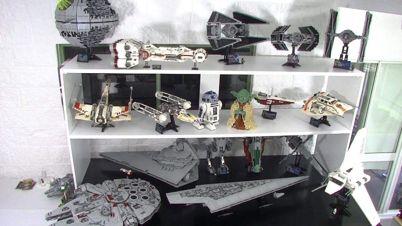 huge lego star wars ucs collection june 2016 youtube. Black Bedroom Furniture Sets. Home Design Ideas