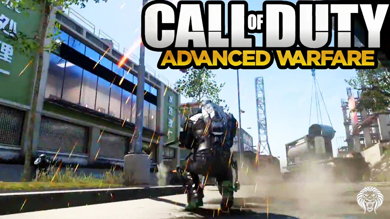 COD Advanced Warfare: Pipeline Remake Gorge TEASER! New Map Gameplay on
