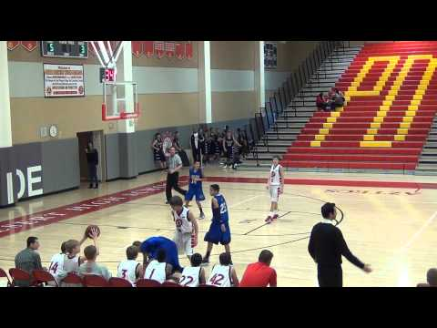 JV Boys Basketball - Palm Desert vs Cathedral City - 1.07.13