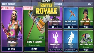 "FORTNITE ""SHOP"" 02/09 NEW DREAM FLOWER SKIN - SPATIAL - DRUM BEAT"
