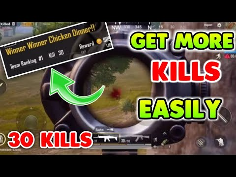 HOW TO KILL MORE PEOPLE IN PUBG MOBILE !