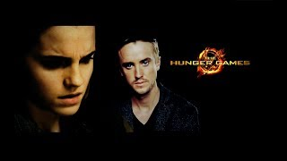 draco hermione || the hunger games