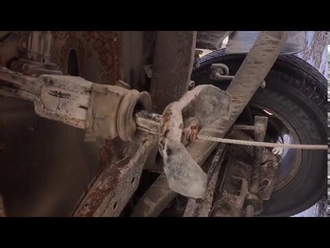 2003 Chevrolet Avalanche Spare Tire Problems