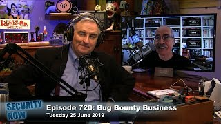 Bug Bounty Business - Security Now 720