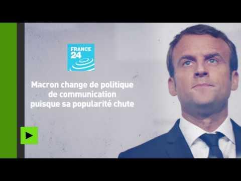 Que pensent les Français de la baisse de popularité d'Emmanuel Macron ?